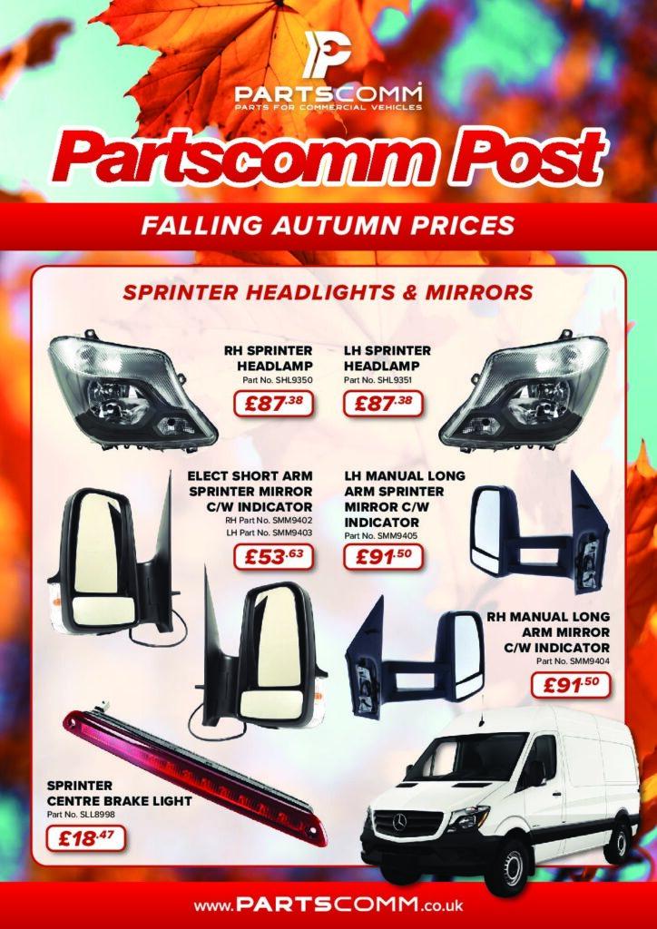 P PC01 0721 Partscomm Post Autumn Edition 4pp A4